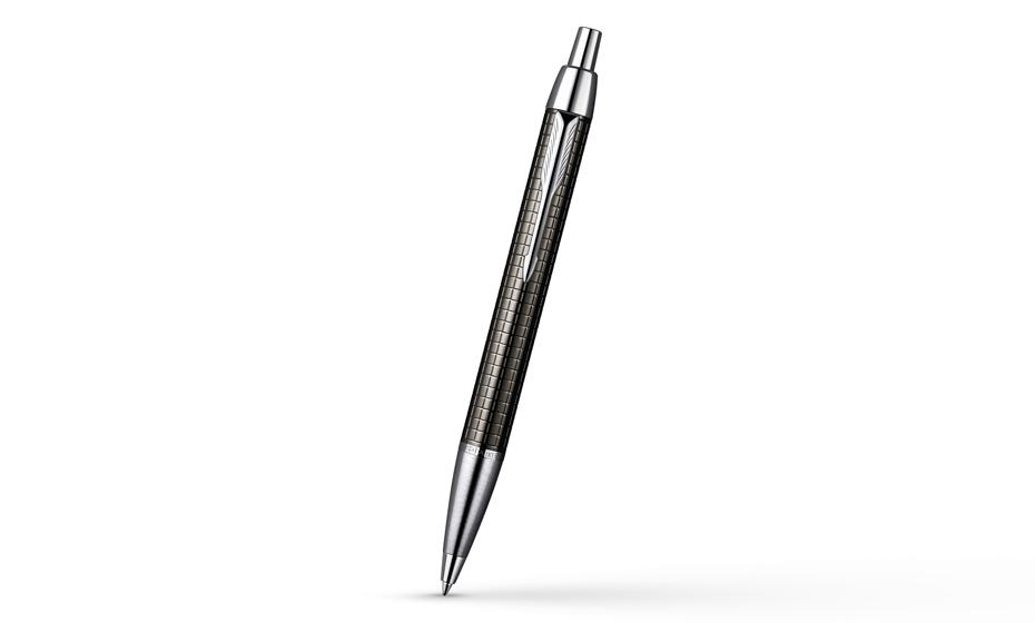 Шариковая ручка Parker IM Premium Deep Grey Gun Metal, покрытие пушечная сталь, арт. S0908710