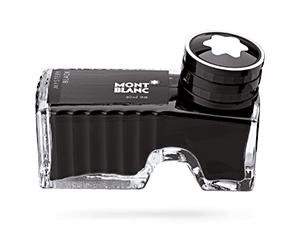 Чернила Montblanc Mystery Black, в бутылочке, 60 мл, черные  105190
