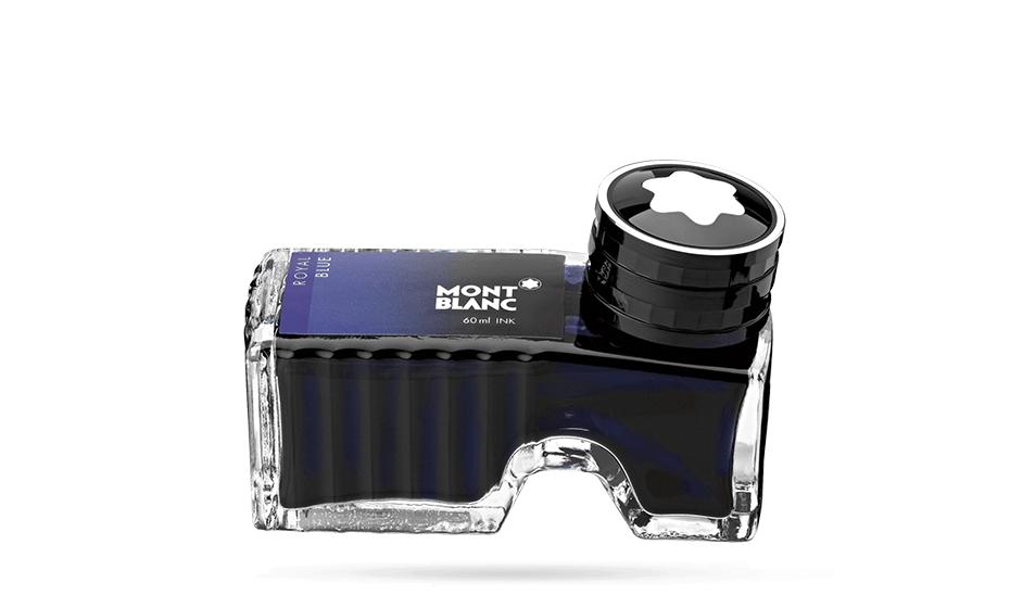 Чернила Montblanc Royal Blue, в бутылочке, 60 мл, синие  105192