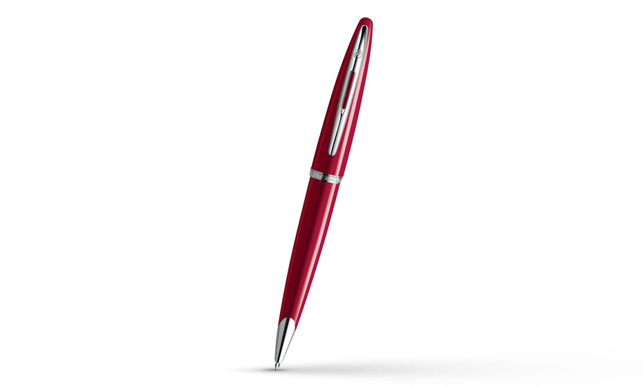 Шариковая ручка Waterman Carene Glossy Red Lacquer ST, лак, палладий  S0839620