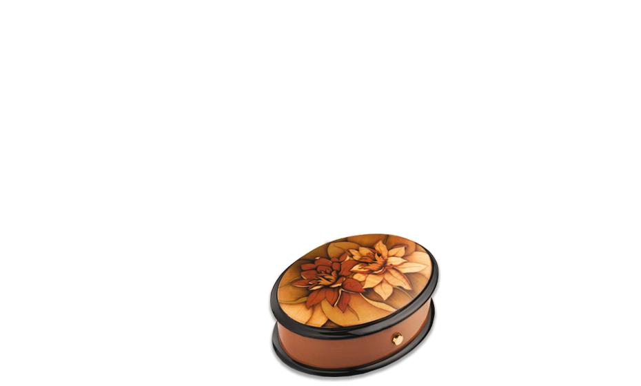 Музыкальная шкатулка Reuge Water Lily, дерево, лилиии  AXA.36.4286.002