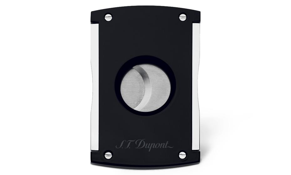 Каттер S.T. Dupont Maxijet,черный, отделка: лак, хром  3265