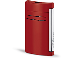 Зажигалка S.T. Dupont Maxijet, красная, блестящая отделка, лак, хром  20138N