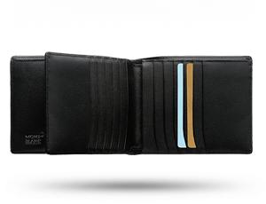 Бумажник Montblanc черный  104820