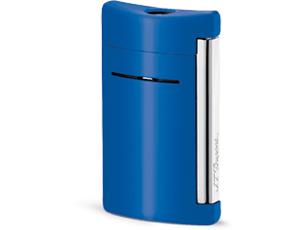 Зажигалка S.T. Dupont Minijet, синяя, лак  10038
