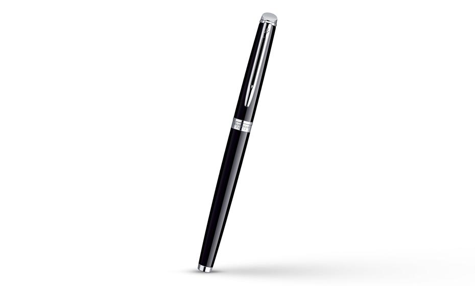Перьевая ручка Waterman Hemisphere Essential Black CT, нержавеющая сталь,  S0920510 3501170920510