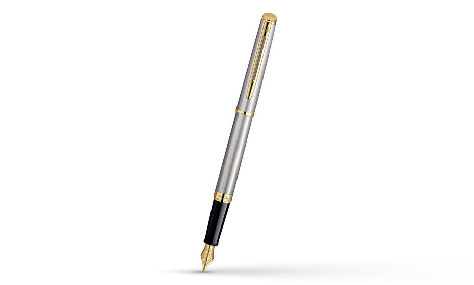 Перьевая ручка Waterman Hemisphere Stainless Steel GT, нержавеющая сталь,  S0920310 3501170920312