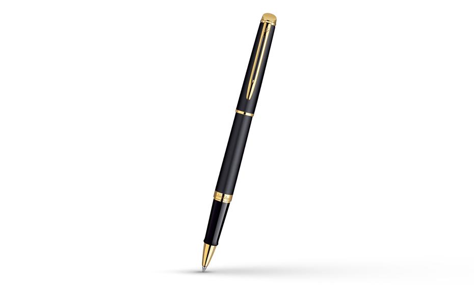 Чернильная ручка Waterman Hemisphere Matt Black GT, матовый лак, позолота 23  S0920750 3501170920756