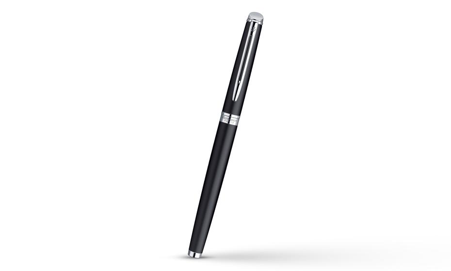Перьевая ручка Waterman Hemisphere Matt Black CT, нержавеющая сталь, матов  S0920810 3501170920817
