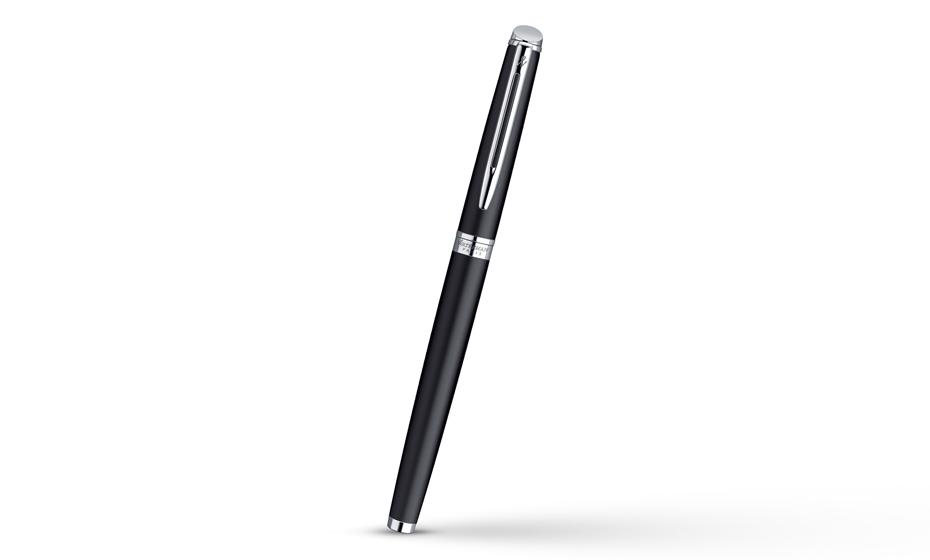 Чернильная ручка Waterman Hemisphere Matt Black CT, матовый лак, хром  S0920850