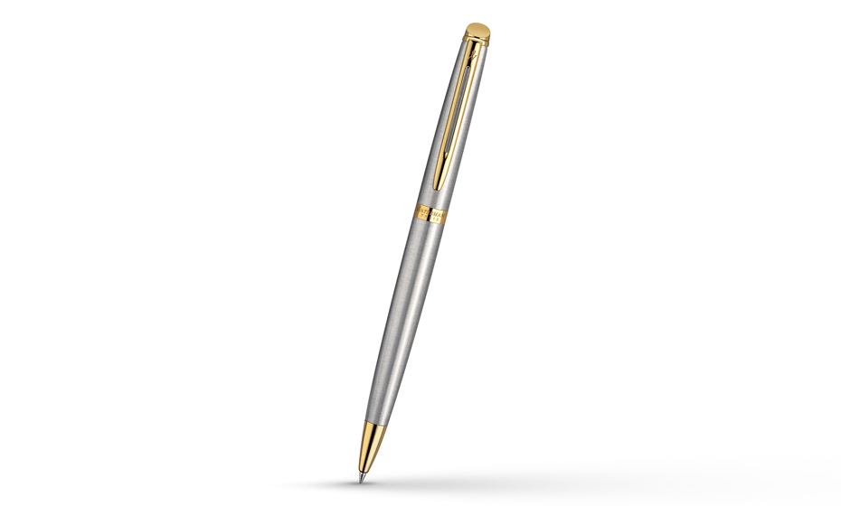 Шариковая ручка Waterman Hemisphere Stainless Steel GT, нержавеющая сталь,  S0920370 3501170920374