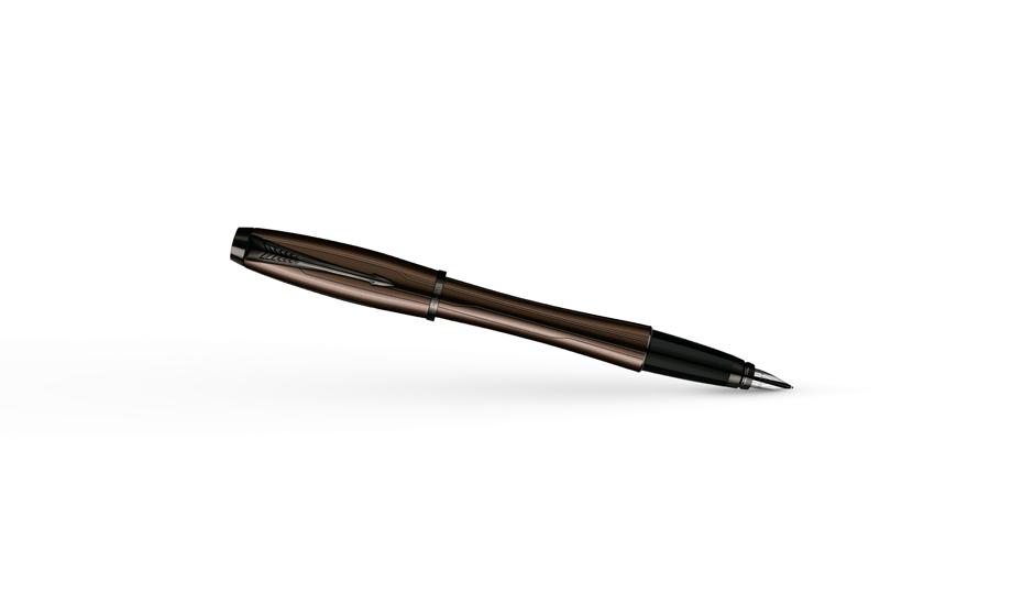 Перьевая ручка Parker Urban Premium Metallic Brown, нержавеющая сталь, л  S0949210