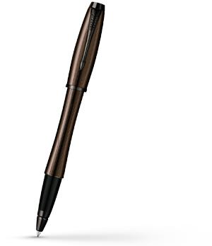 Чернильная ручка Parker Urban Premium Metallic Brown, лак, хром  S0949220