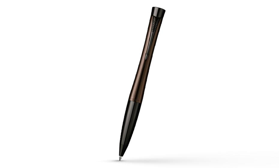 Шариковая ручка Parker Urban Premium Metallic Brown, лак, хром  S0949230