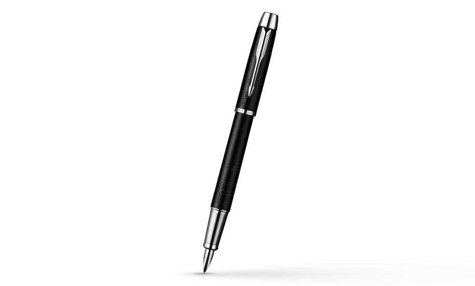Перьевая ручка Parker IM Premium Matt Black CT, нержавеющая сталь, лак,  S0949660