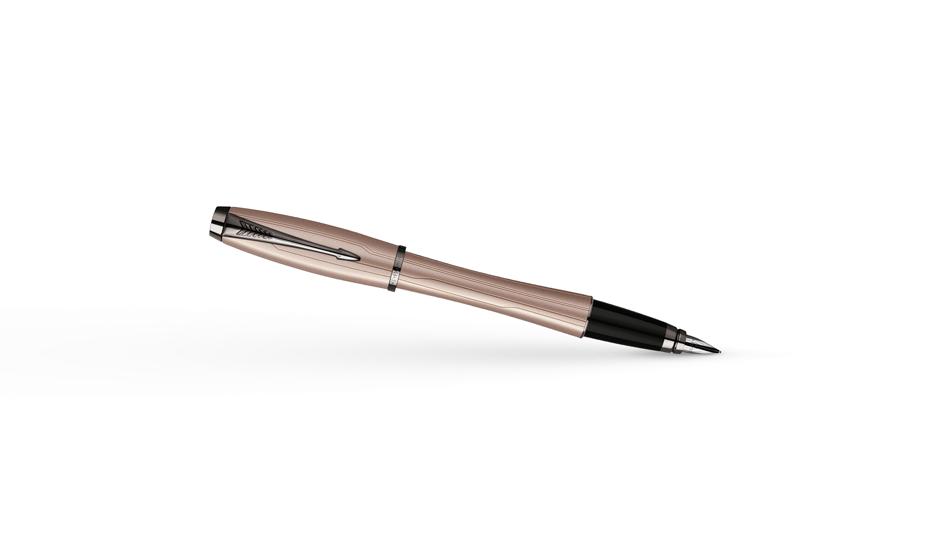 Перьевая ручка Parker Urban Premium Metallic Pink, нержавеющая сталь, ла  S0949260