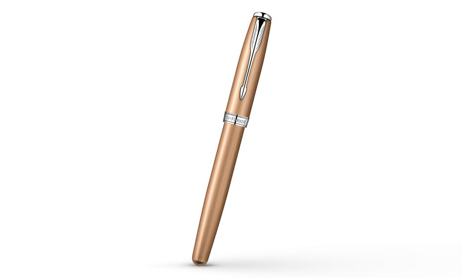 Чернильная ручка Parker Sonnet Feminine Pink Gold GT, PVD покрытие, напыле  S0947280