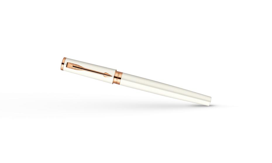 Шариковая ручка Parker Ingenuity Small Pearl PGT, жемчужный глянцевый лак  S0959050