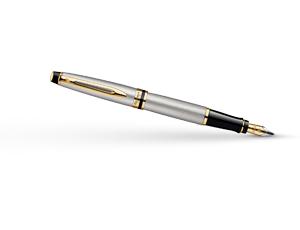 Перьевая ручка Waterman Expert 3 Essential Metallic GT, нержавеющая сталь,  S0951940