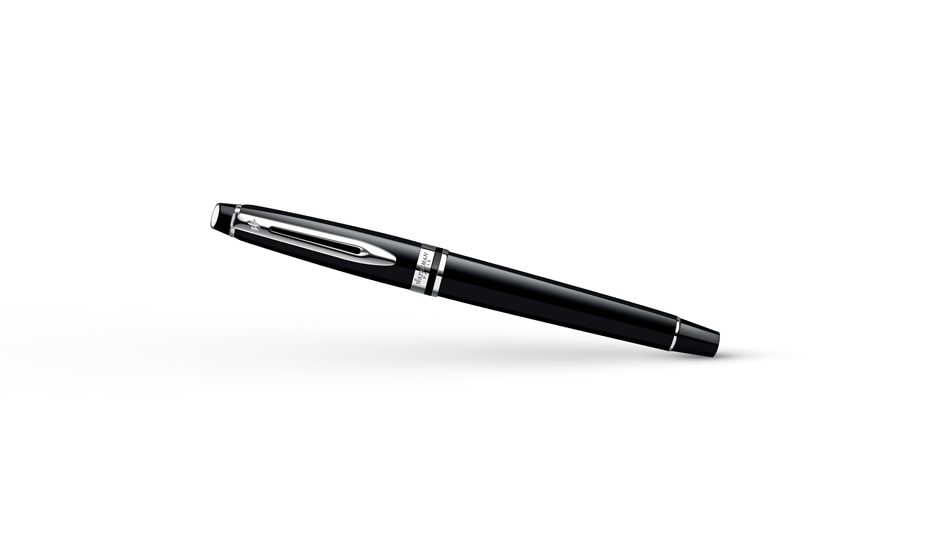 Перьевая ручка Waterman Expert 3 Black Laque CT, нержавеющая сталь, черный  S0951740 3501170951743
