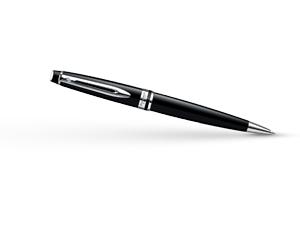Шариковая ручка Waterman Expert 3 Black Laque CT, черный лак, хром  S0951800