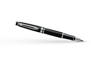 Перьевая ручка Waterman Expert 3 Matte Black CT, нержавеющая сталь, матовы  S0951840