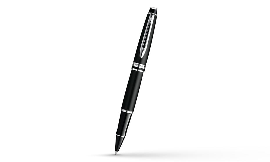 Чернильная ручка Waterman Expert 3 Matte Black CT, черный матовый лак, хром  S0951880 3501170951880