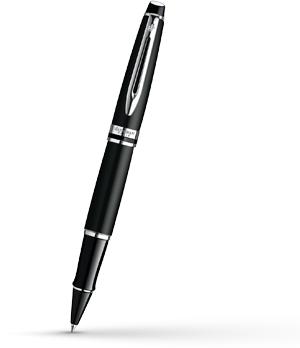 Чернильная ручка Waterman Expert 3 Matte Black CT, черный матовый лак, хром  S0951880