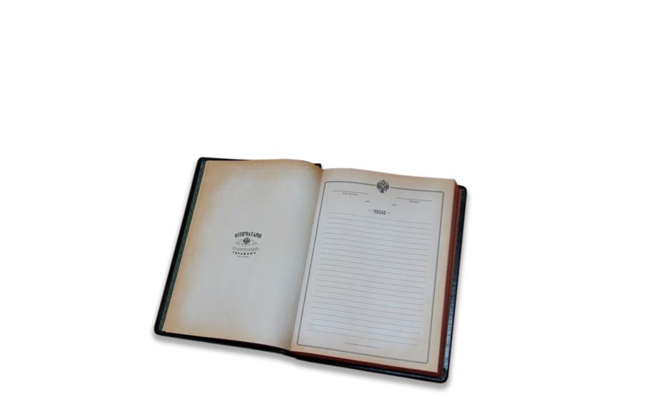 Ежедневник Старая Грамота недатированный в стиле 19-го века  5