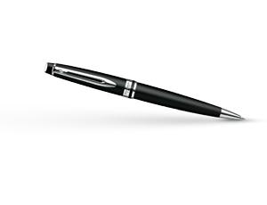 Шариковая ручка Waterman Expert 3 Matte Black CT, черный матовый лак, хром  S0951900