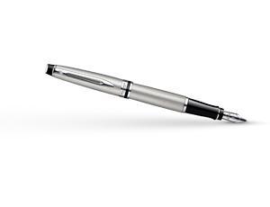 Перьевая ручка Waterman Expert 3 Stainless Steel СT, нержавеющая сталь, хр  S0952040
