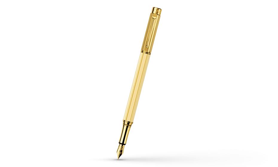 Перьевая ручка Caran d'Ache Varius China Ivory, золото, позолота, китайский  4490-073