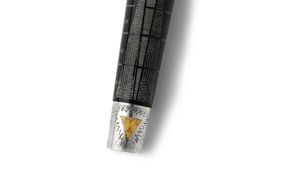 Перьевая ручка Montegrappa АЛХИМИК смола/серебро  ALCHEM-FP
