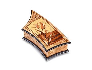 Музыкальная шкатулка Reuge Debussy, дерево, цветы  AXA.72.5085.000