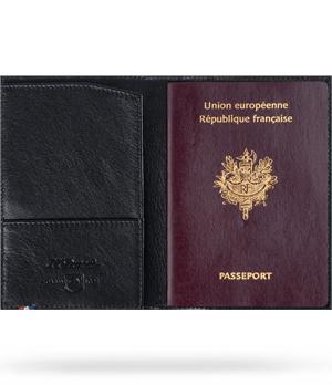 Обложка для паспорта S.T. Dupont Contraste, телячья кожа  180312