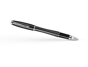 Чернильная ручка Parker Urban Premium Ebony Metal Chiselled, лак, гравиров  S0976050