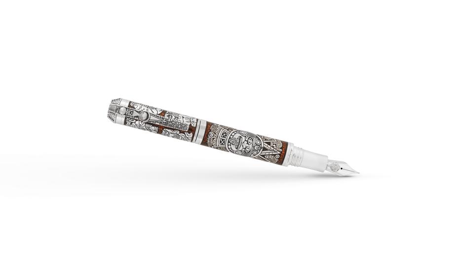 Перьевая ручка Montegrappa Mexican Civilizations  MAYANCAL-S