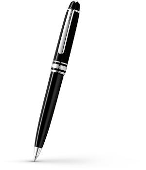 Шариковая ручка Montblanc Meisterstuck, платина  108749