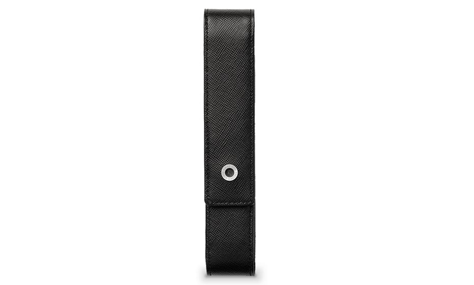Чехол Graf von Faber-Castell для 1 ручки, черный, фактурная кожа  118844