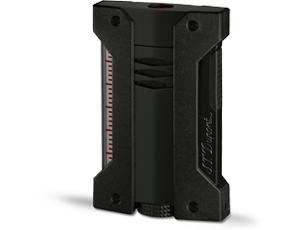 Зажигалка S.T. Dupont Defi Extreme, черная, отделка: лак  21400-1
