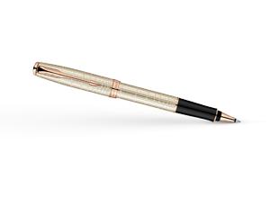 Чернильная ручка Parker Sonnet Feminine Silver PGT, серебро 925 пробы, роз  1859491
