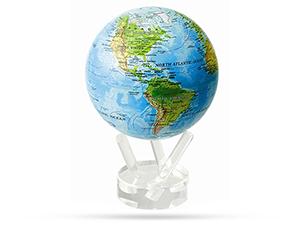 Глобус Mova Mova, самовращающийся, с географической картой, D1  MG-45-RBE