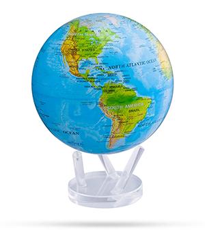 Глобус Mova Mova, самовращающийся, с географической картой, D2  MG-85-RBE