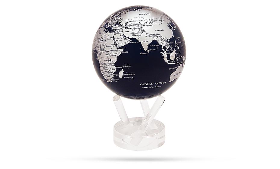 Глобус Mova Mova Globe World Maps, самовращающийся, с политиче  MG-6-SBE