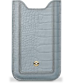 Чехол Montblanc для смартфона, La Vie de Boheme, голубой  107622