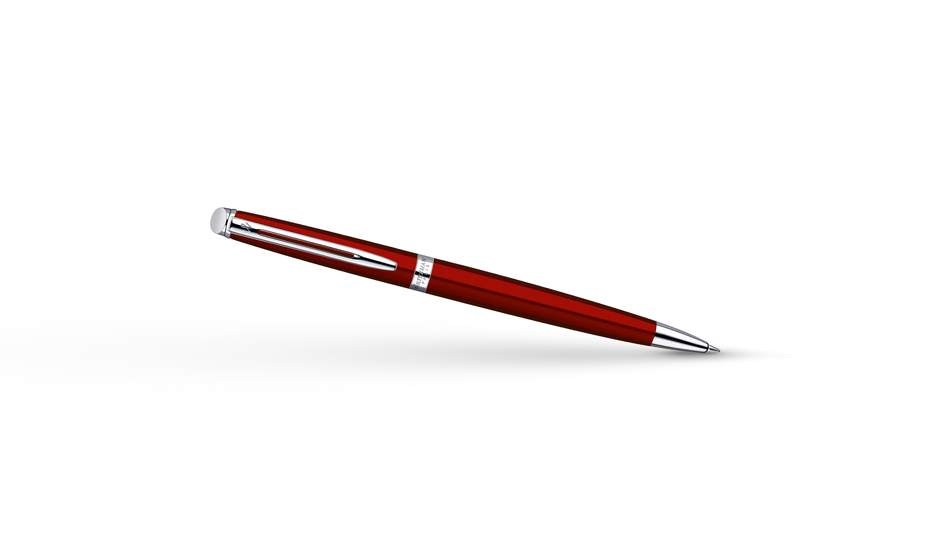 Шариковая ручка Waterman Hemisphere Red Comet CT, красная, матовый лак, хро  1869011
