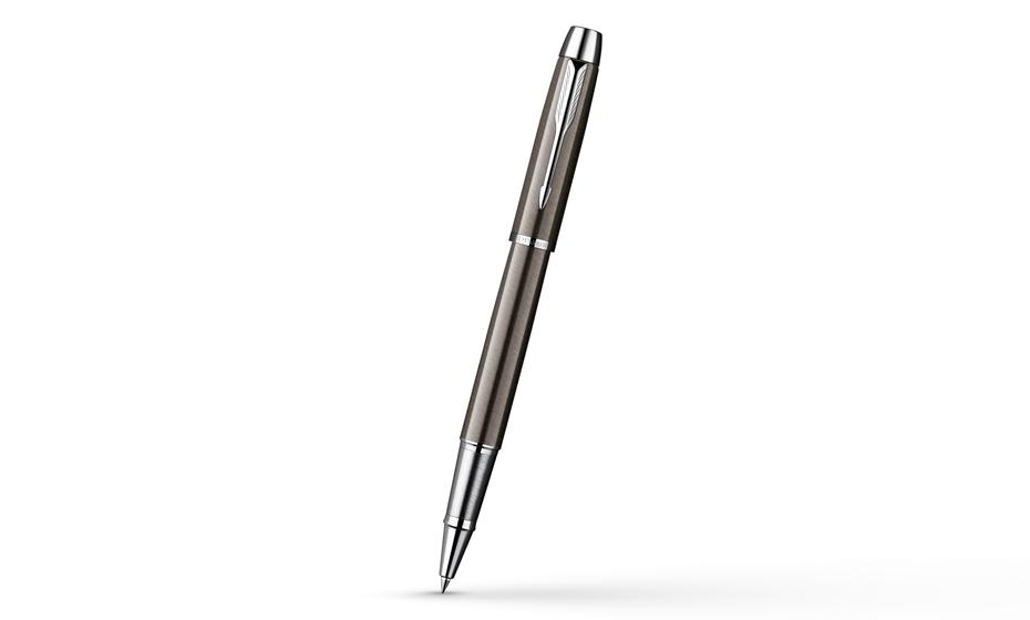 Чернильная ручка Parker IM Deep Black CT корпус черный лак с отделкой хромом, арт.  S0856410