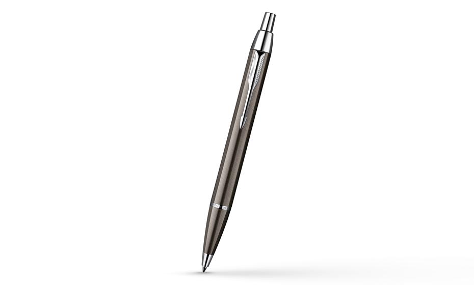 Шариковая ручка Parker IM Gun Metal CT корпус серый лак с хромом, арт. S0856490