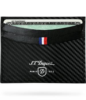 Чехол для кредитных карт S.T. Dupont Defi, кожа, с тиснением  170006