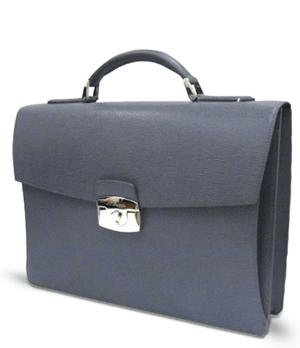 Портфель S.T. Dupont Contraste, кожа, 1 отделение, серый  181701